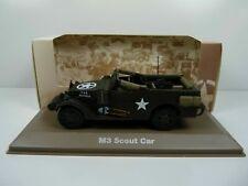 BL20H atlas IXO 1/43 Blindés WW2 : M3 Scout Car white US army USA