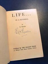 """Life in a Nutshell"" A. Realist 1936 Edward Charles Francis"