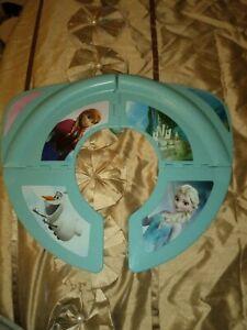 Frozen Foldable Travel Toilet Seat Cover