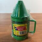 Vintage 1980 Deka Crayola Crayon 10 oz Plastic Mugs w/ Lid - You Choose - SEALED
