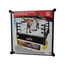 WWE Summer Slam & Wrestle Mania Superstar Wrestling Ring NEW