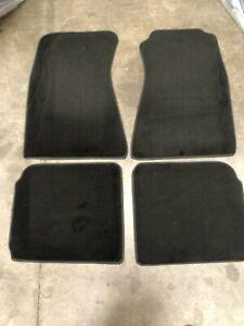 NEW FORD FAIRLANE LTD P5 ZF ZG ZH CARPET FLOOR MATS PLUSH IN BLACK SUIT SEDAN