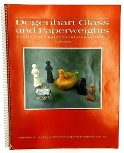 Degenhart Glass and Paperweights - A Collectors Guide to Colors and Values
