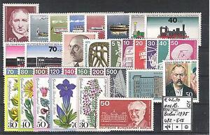 Berlin 1975 kompletter Jahrgang MiNr. 482 - 515 postfrisch