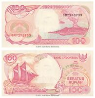 Indonesia 100 Rupiah 1992 (2000)  P-127h Banknotes UNC