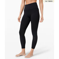 "Lululemon Women's  Bold Move High-Rise Tight 24"" Asia Fit-Black"