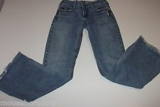 Women's SILVER BRAND Matrix Distressed Blue Jeans Size 28 / 31 -Flare-FREE SHIP