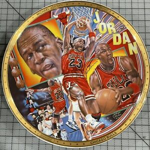 1991 SPORTS IMPRESSION MICHAEL JORDAN NBA PLATE LIMITED GOLD EDITION #ED /1991
