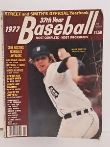 Street And Smith's Official Baseball Yearbook 1977 Mark Fidrych Detroit Tigers