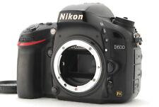 【Exc+3】Nikon D600 24.3MP Digital SLR Camera Black Body Only From Japan #1145