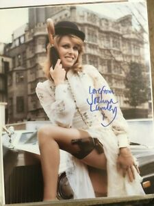 Joanna Lumley - The Avengers Signed 10x8 Photo