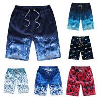 Men Boardshorts Surf Beach Shorts Man Swimming Trousers Sports Trunks Pants COU