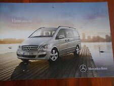 Mercedes Viano price list brochure Sep 2013