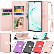 For Samsung Galaxy Note 10 /10 Plus Wallet Case Flip Leather Cover w/Card Holder