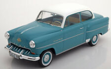 1953 Opel Olympia Rekord Turquoise/White by BoS Models LE of 504 1/18 Scale New!