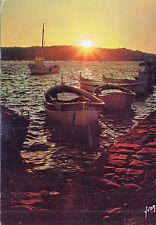 BF14417 ile de porquerolles var coucher de soleil sur l  france front/back image