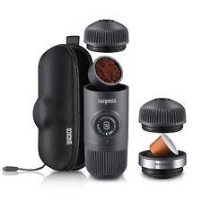 WACACO NANOPRESSO ESPRESSO COFFEE MACHINE + CASE + APAPTER Portable Minipresso