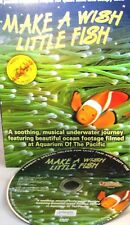 Make a Wish Little Fish DVD Aquarium Soothing Music Kids Bedtime Music Relax New