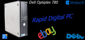 Dell Optiplex 780 Intel E7500 8Gigs 250Gig HDD Windows 10 Pro 64x
