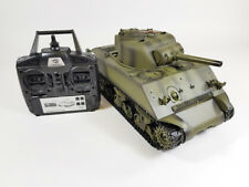 MATO Radio Remote Controlled RC 2.4G Tank M4A1 SHERMAN 1/16 with 2 Sounds UK RTR