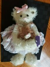 """New Rare Annette Funicello Collectible Bear """"Katie and Whiskers"""""""