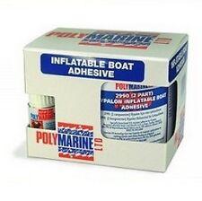 Polymarine Hypalon 2 Part Inflatable Boat Adhesive / Glue - 250ml