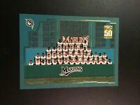 2001 Topps # 763 FLORIDA MARLINS TEAM CARD SWEET $$ HOT $$ LOOK !