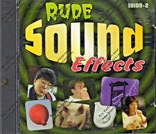 RUDE SOUND EFFECTS by NESAK: 91 CLASSIC CRUDE SOUNDS FOR HALLOWEEN & MORE! 1995