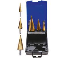 BGS 1624 Stufenbohrer-Set Titannitriert 4-30mm