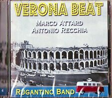 VERONA BEAT RUGANTINO BAND MARCO ATTARD ANTONIO RECCHIA CD SEALED 2002 ITALY