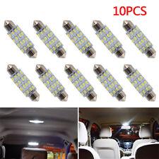 10PCS White 42MM C5W 16SMD Festoon Dome Xenon Car Light Interior Lamp Bulb 12V