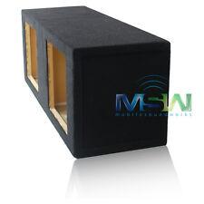 10-Inch SEALED MDF ENCLOSURE BOX for KICKER® SoloBaric L7 L5 L3 SQUARE SUB PAIR