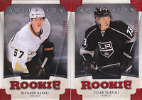 13-14 Artifacts Rickard Rakell /299 Rookie RUBY RED
