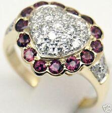 0.8 ct Diamond Not Enhanced, yellow gold 14k Anniversary Diamond Ring Sz 6.25