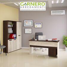 Arredo ufficio composizione mobile ufficio TIME 7 scrivania armadio libreria