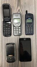 *** 5x Handy Konvolut *** LG, Siemens, Beafon, Samsung, Nokia *** DEFEKT!!!