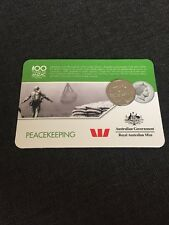 2016 Peacekeeping Anzac Coin - Anzac To Afghanistan 20 Cents