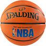 Spalding NBA Logoman Basketball Outdoor Ball Size 7 with Soft Grip Technology