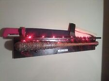 THE WALKING DEAD NEGAN'S LUCILLE  BAT,  Ricks Grimes axe & red handle machete