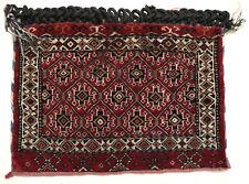 Sac tapis ancien antique rug Turckmen Turc Oriental 1930