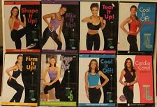 NEW 8 Debbie Siebers workout exercise program DVD set Slim in 6 firm tear it up
