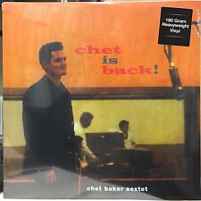 "Chet Baker Sextet ‎– Chet Is Back! SEALED DOL ‎DOL899H VINYL 12"" LP"