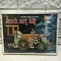 Vintage KELLY'S JUNK ART KIT 1831 Locomotive Train Model 1002 UNOPENED 1977