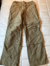 Rohan Ladies Double  Convertible Goa Trousers Size Small