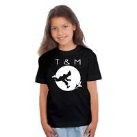 T-shirt ENFANT FILLE TINTIN & MILOU