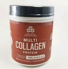 Multi Collagen Protein by Ancient Nutrition Dr Axe Type I,Ii,Iii,V&X 16oz 6/2021