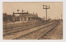 Derbyshire postcard - Trent Station