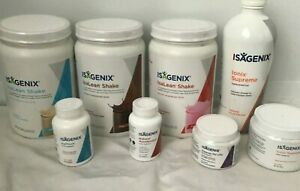 Isagenix Isalean Weight management Shakes*30 DAYS MONEY BACK *VALUE *FREE POST