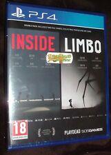 Inside / Limbo Double Pack Playstation 4 PS4 NEW SEALED Free UK p&p UK Seller