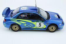 TOP MARQUES 037B SUBARU IMPREZA model car Burns / Reid  Rally New Zealand 1:18th